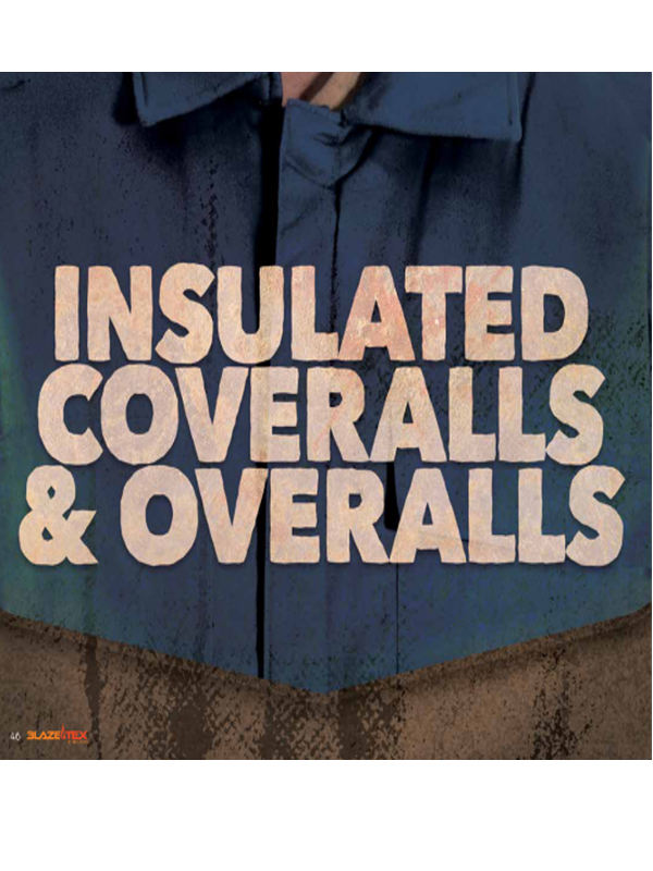 Insulated Coveralls and Overalls