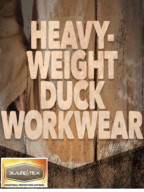 Heavy-Weight Duck Workwear