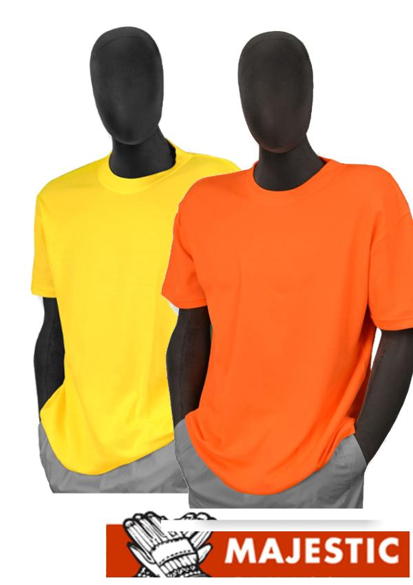 Majestic 75-5003/5004, Hi Vis Short Sleeve Shirt - NON ANSI