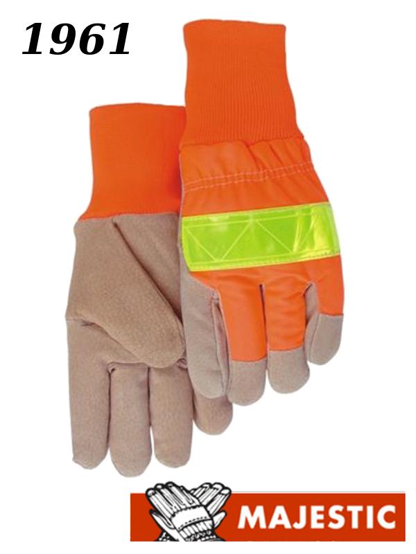 Fleece Lined Pigskin Work Gloves/$ per Dozen