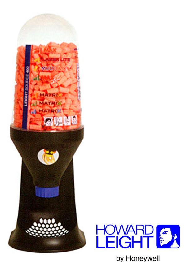 Howard Leight by Honeywell Source 400 Plastic Earplugs Dispenser (Earplugs Sold Separately)