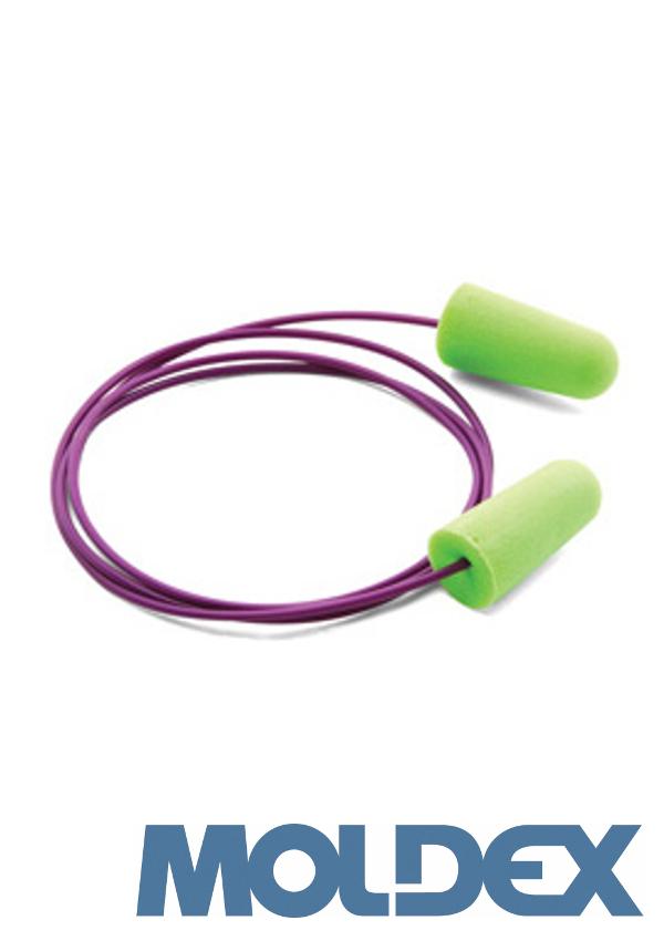 Moldex PlugStation Earplugs Dispenser (With 500 Pair Single Use Meteors® Curved Shape Foam Uncorded Earplugs)