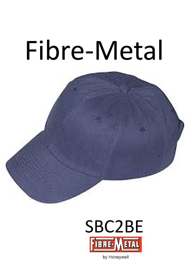 Fibre-Metal® Blue Homerun™ Cotton Baseball Style Bump Cap