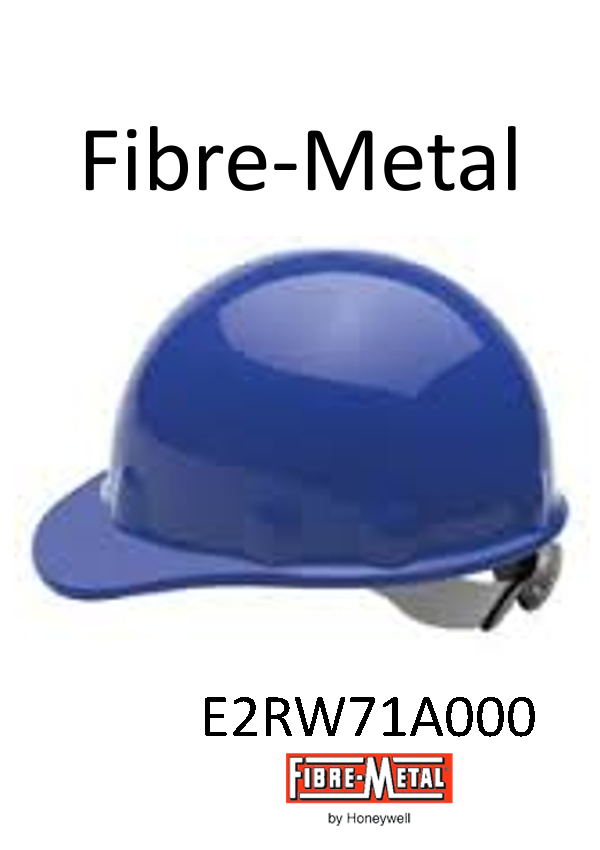 Fibre-Metal® Blue SuperEight Hard Hat with Ratchet Suspension