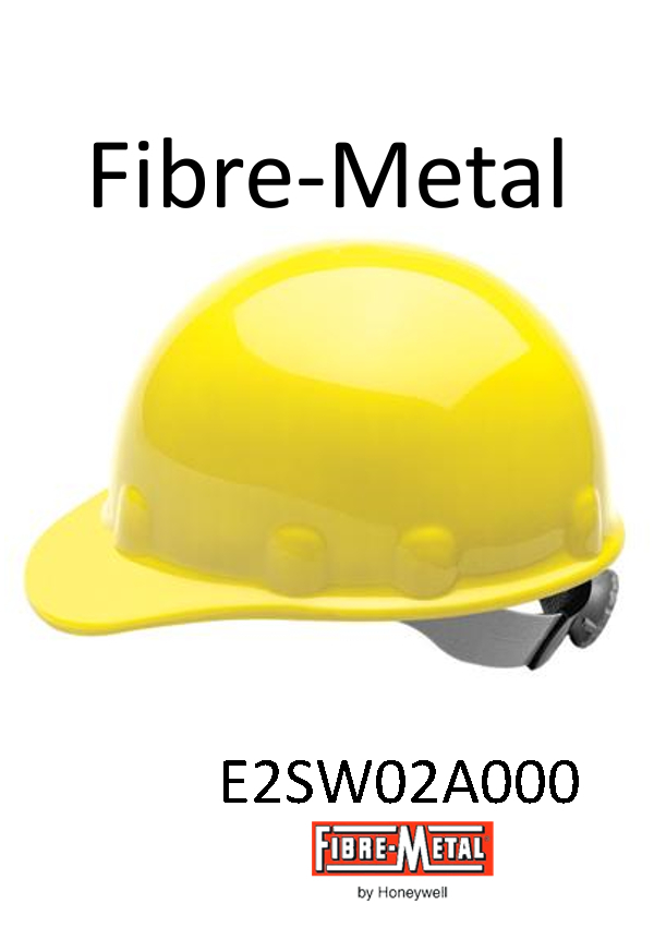 Fibre-Metal® Yellow, SuperEight SwingStrap™ Hard Cap With SwingStrap™ Suspension