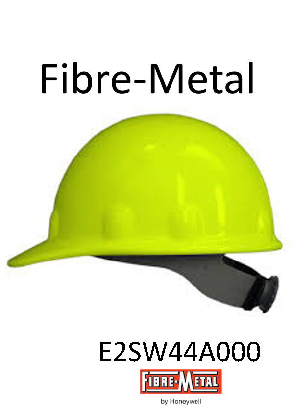 Fibre-Metal® Hi Viz Yellow, SuperEight SwingStrap™ Hard Cap With SwingStrap™ Suspension