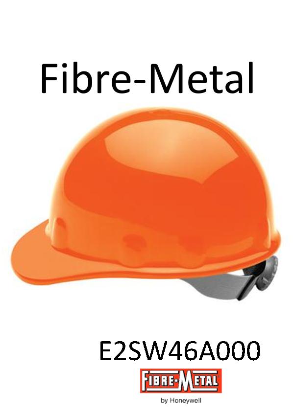 Fibre-Metal® Hi Viz Orange, SuperEight SwingStrap™ Hard Cap With SwingStrap™ Suspension