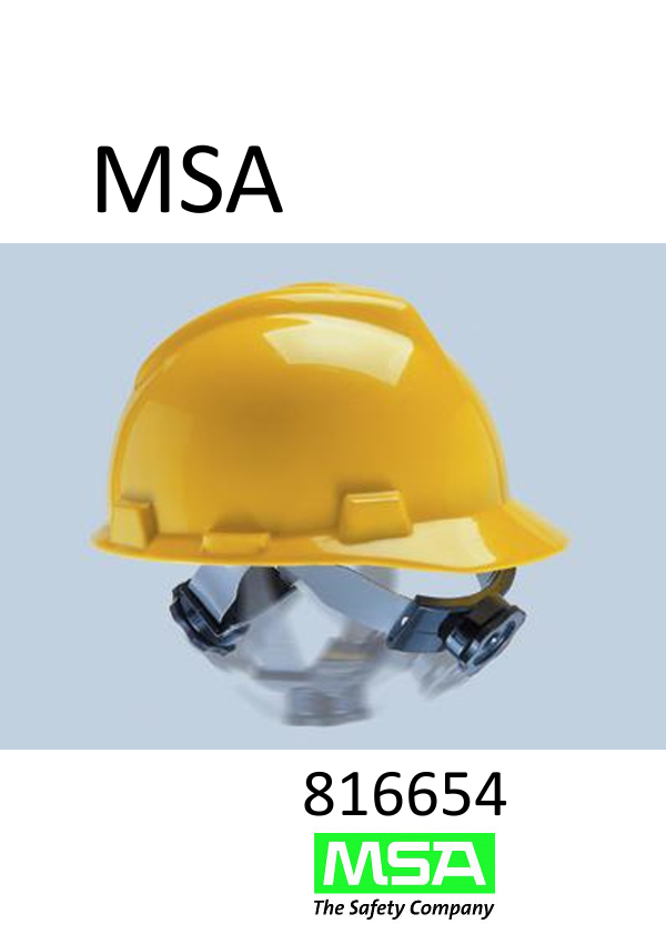 MSA Replacement Swing Fas-Trac® Ratchet Suspension With Fixed Crown For Standard Skullgard® Caps Or Hats