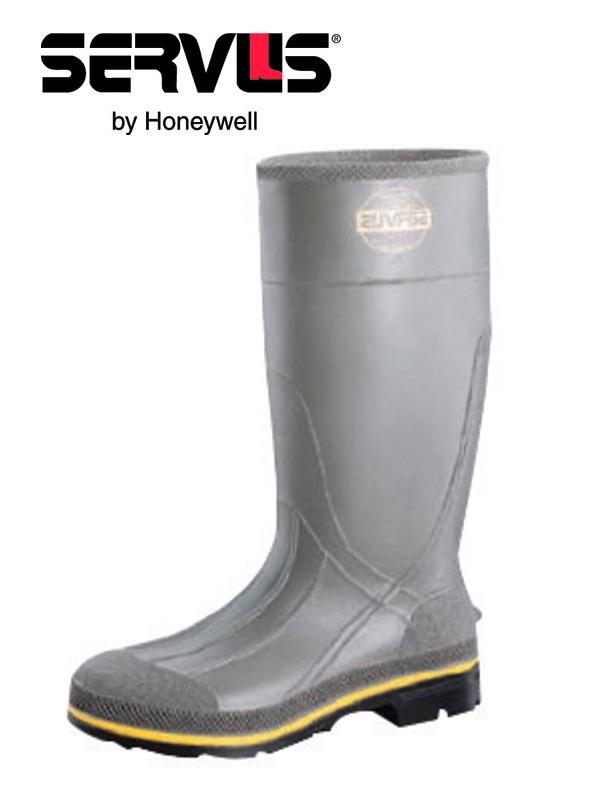 "Servus By Honeywell PRO 15"" PVC Steel Toe Knee Boots"