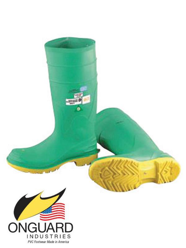 "Onguard Industries Hazmax 16"" PVC Steel Toe Knee Boots"