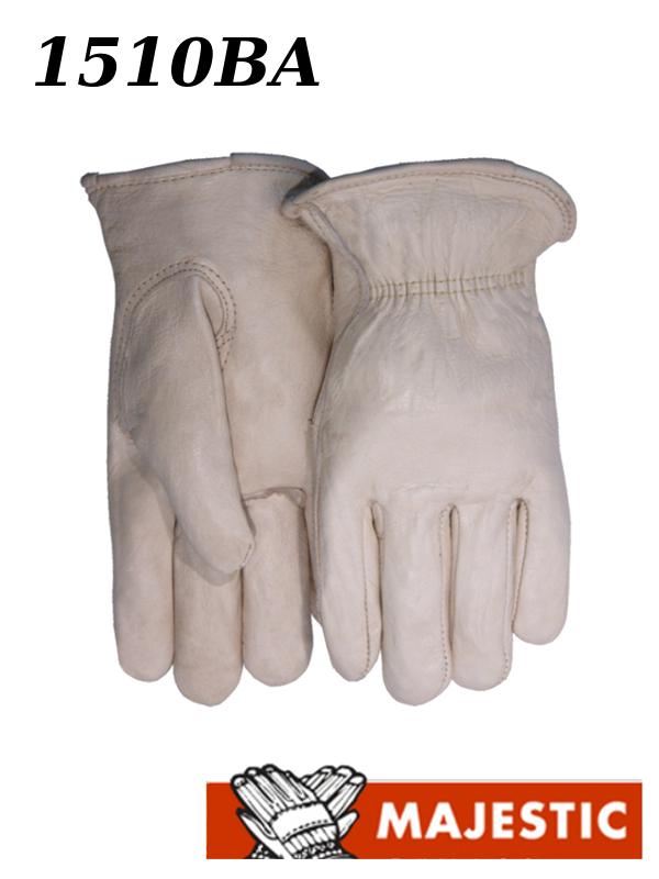 Majestic 1510BA, Extra Heavy Cowhide Leather Driver Gloves/$ per Dozen