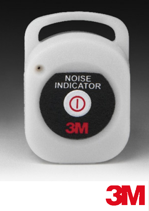 """3M   2"""" X 1.4"""" X .52"""" Rechargeable Noise Indicator"""