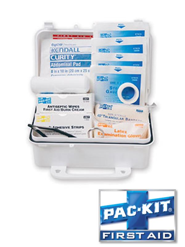 ANSI 10 Person Weatherproof Plastic Kit - 57 Pieces