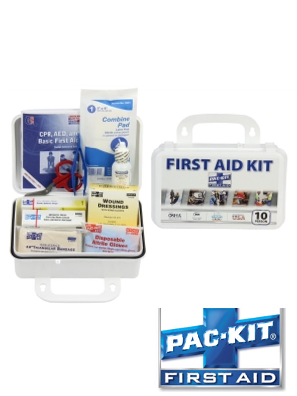 ANSI PLUS 10 Person Steel Box Kit - 76 Pieces