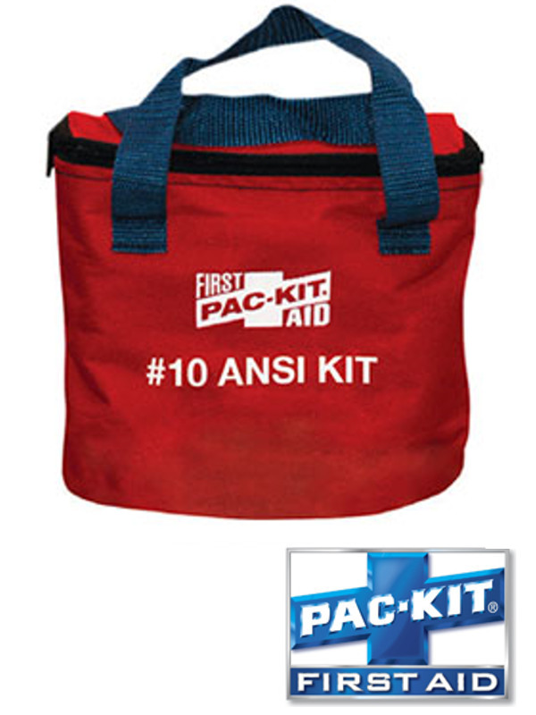 ANSI #10 Soft Pouch First Aid Kit