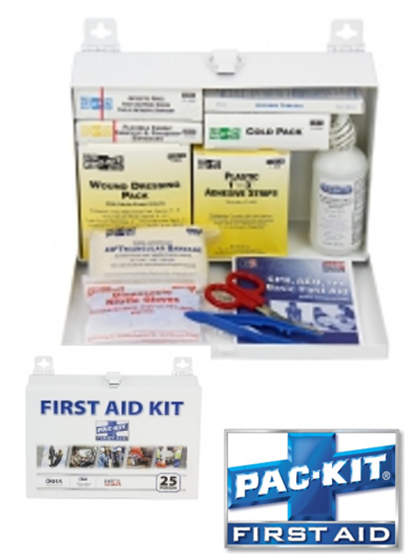 ANSI Plus 25 Steel Kit - 143 Items