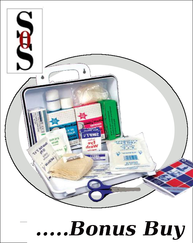 All Purpose First Aid Kit in Plastic Case