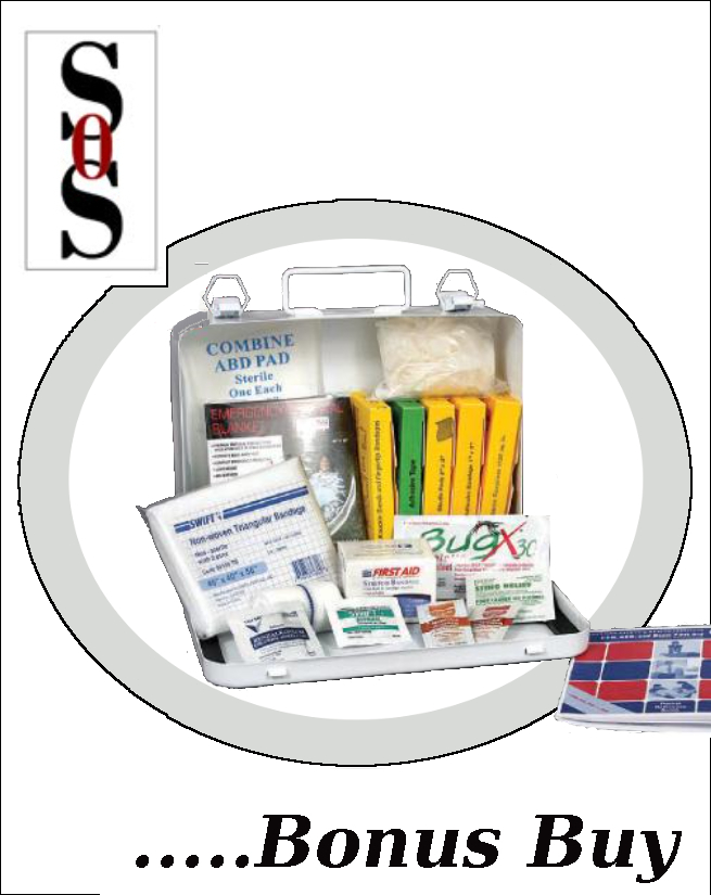 25 Person Bulk Construction First Aid Kit
