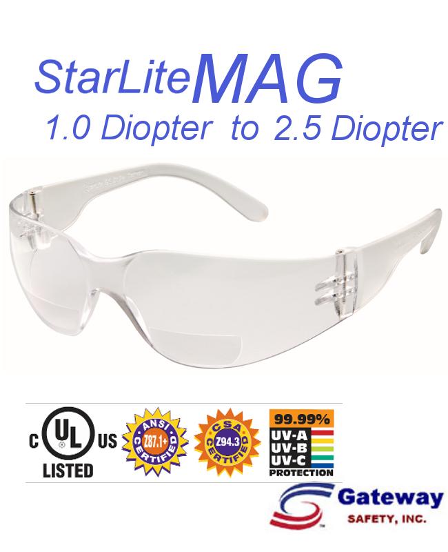 StarLite MAG  Always In Focus! Right On Budget, Anti-Fog Lens/10 per Box