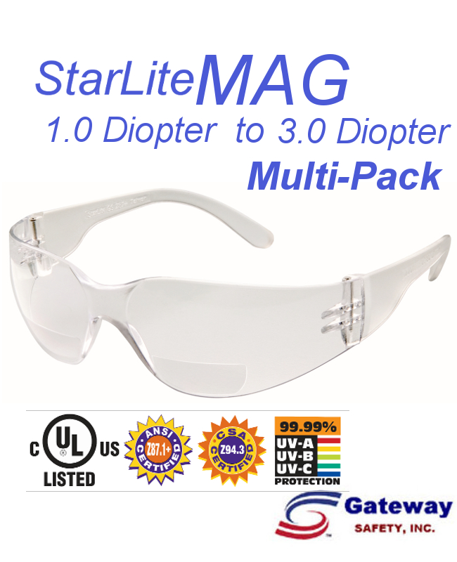 StarLite MAG  Always In Focus! Right On Budget - NEW - Assorted Diopter Strengths/10 per Box