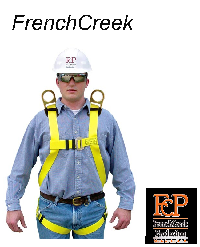 Model 631D, Full Body Harness with Shoulder Positioning D-Rings