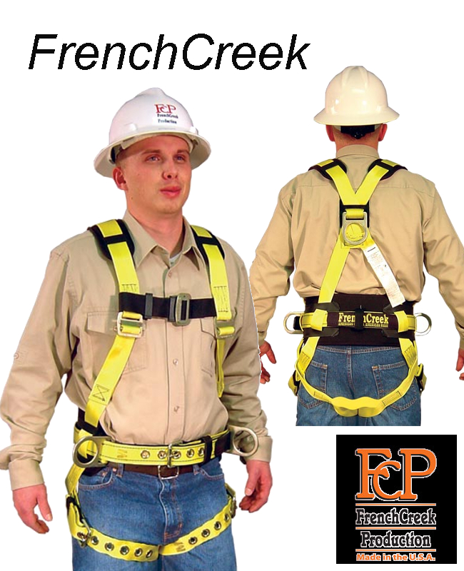 Model 853AB with Sub-Pelvic Strap, Shoulder Pads & Hip Positioning D-Rings