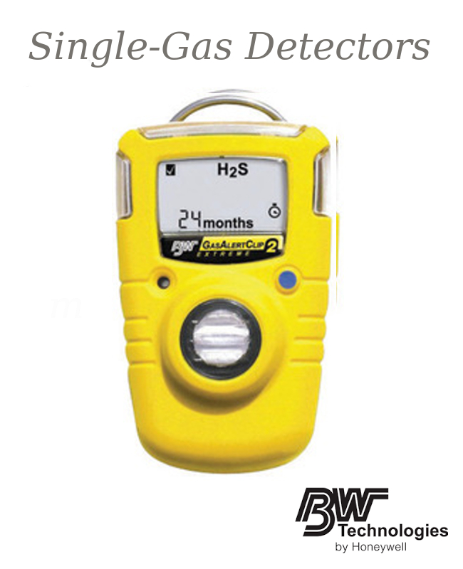 GasAlertClip Extreme:  2 Year Portable Oxygen (O2) Monitor