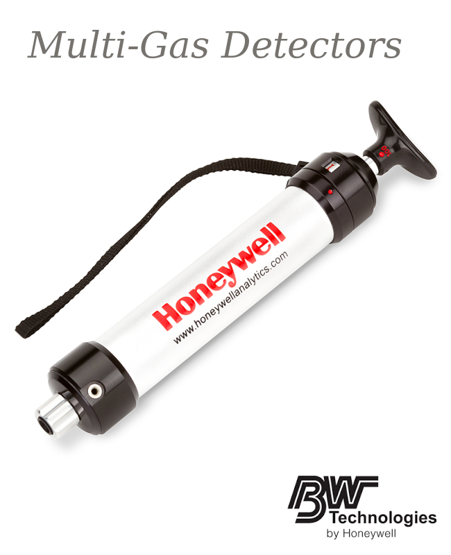 """BW Technologies by Honeywell 5.91"""" X 1.57"""" X 11.81"""" Solid Metal LP-1200 Piston Hand Pump For Use With Sensepoint XCD Sensors"""