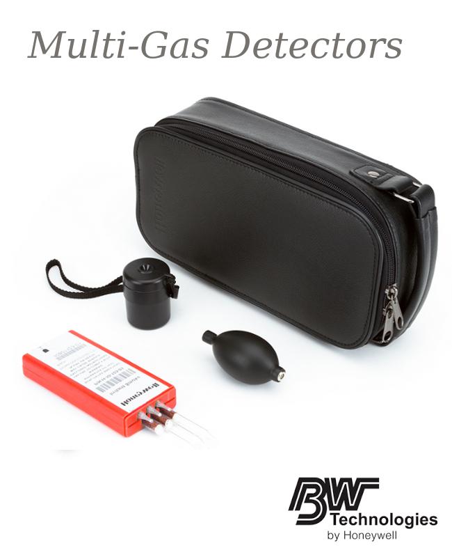 BW Technologies by Honeywell Irritant Colorimetric Tubes Smoke Kit (Includes (6) Smoke Tubes, Aspirator Bulb, Tube Tip Breaker And Small Soft Carrying Case)