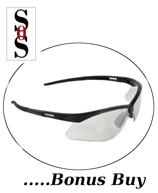 Premier Reading Eyewear - 2.5 Diopter with Clear Lens and Black Frame