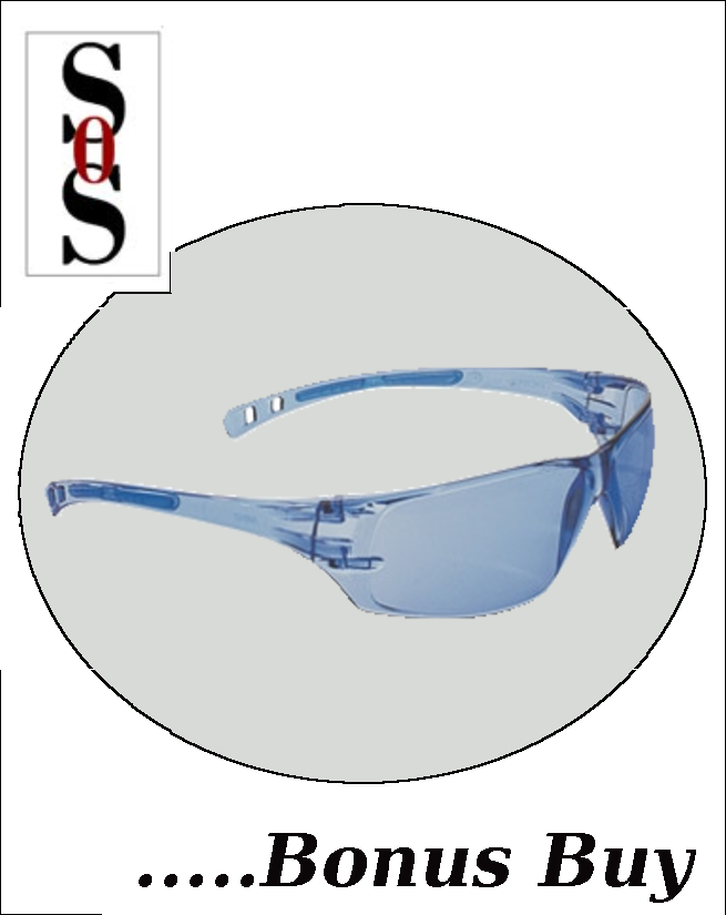 Cobalt Eyewear with Blue Frame, Blue Lens and Adjustable Temples