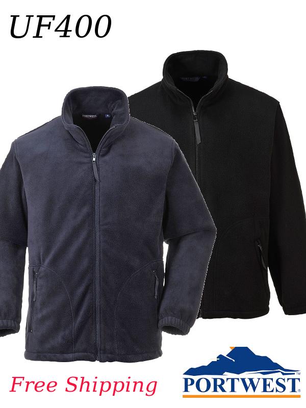 Portwest UF400, Premium Fleece Collection - Argyll Heavy Weight Fleece Jacket/SHIPPING INCLUDED/$ per Fleece