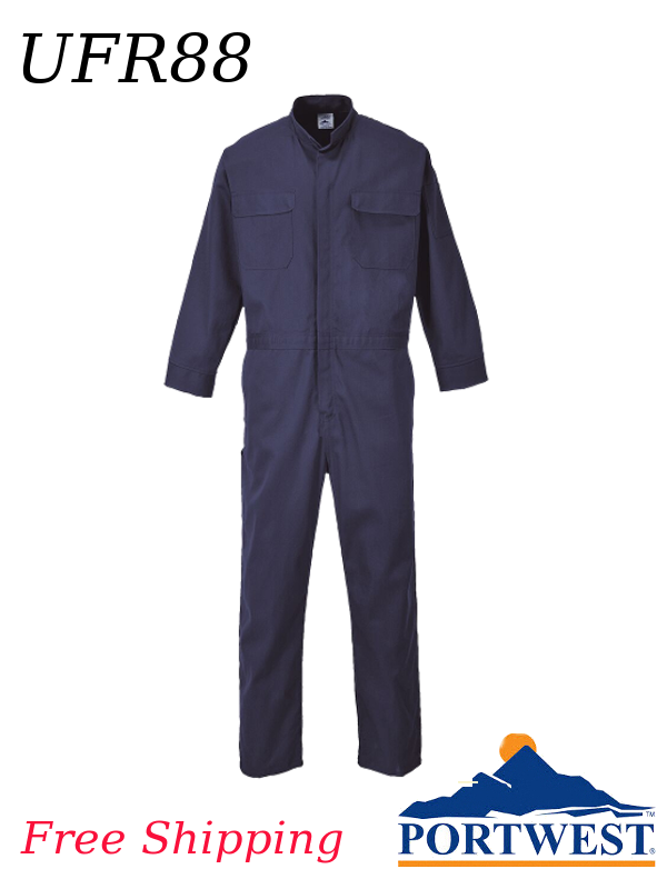 Portwest UFR88, Bizflame 88/12 Flame Resistant Coverall/SHIPPING INCLUDED/$ per Coverall