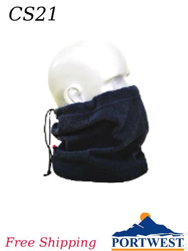 Portwest CS21, Fleece Neck Tube/FREE SHIPPING/$ per Each