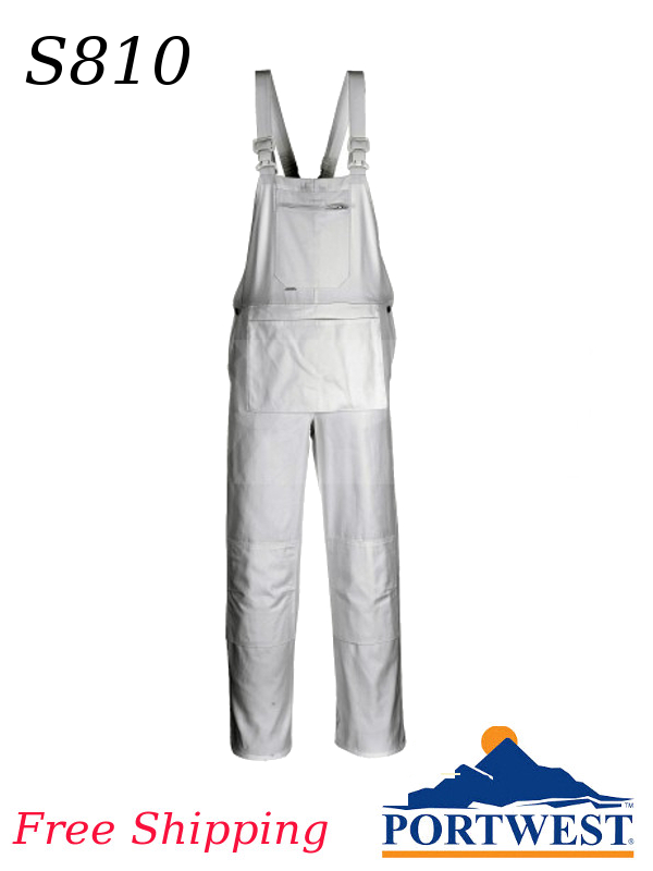 Portwest S810, Bolton Painters Bib/SHIPPING INCLUDED/$ per Pair