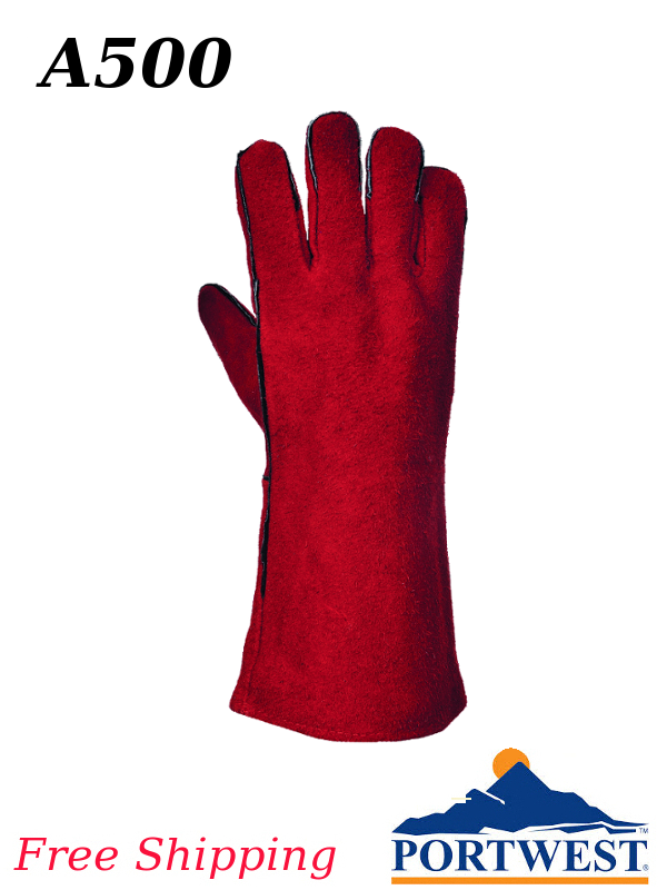 Portwest A500, Welding Protective Gauntlet/FREE SHIPPING/$ per Pair