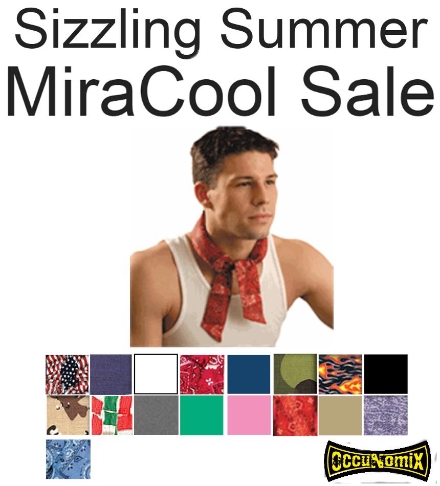 SALE!!  MiraCool 100% Cotton Neck Bandana