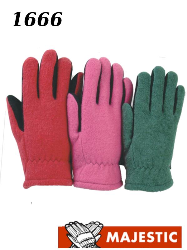 Majestic 1666 Split Deerskin Leather Driver Gloves Heatlok Lined Kid's Sizes /$ per Dozen