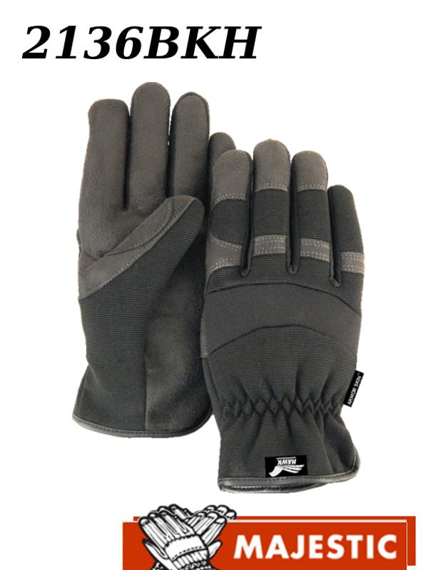 Majestic 2136BKH, Armor Skin Winter Heatlok Lined Gloves/$ per Dozen