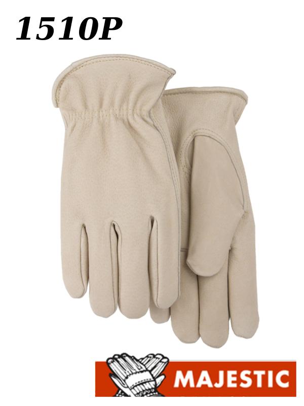 Majestic 1510P, Premium Pigskin Leather Driver Gloves Kevlar Sewn/$ per Dozen