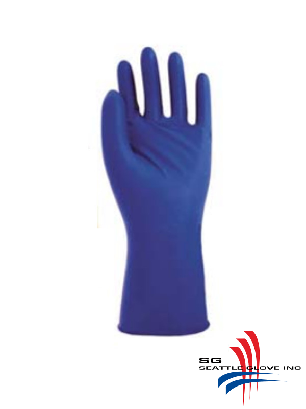 Seattle Glove V715PF,  Extra Strong, 15 mil thick, Powder Free, Medical Grade Exam Latex Gloves/$ per Case of 500