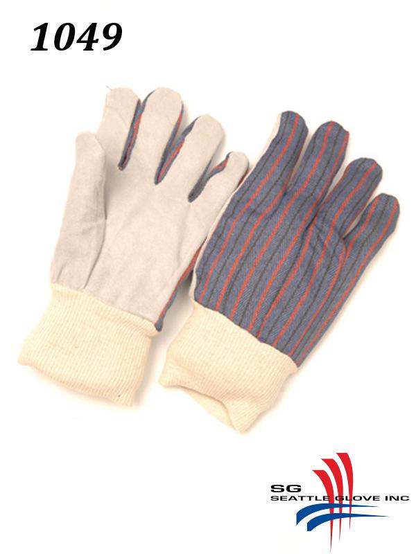 Seattle Glove 1049, Women's Shoulder Split Cowhide Palm and Fingers, Knit Cuff/$ per Dozen