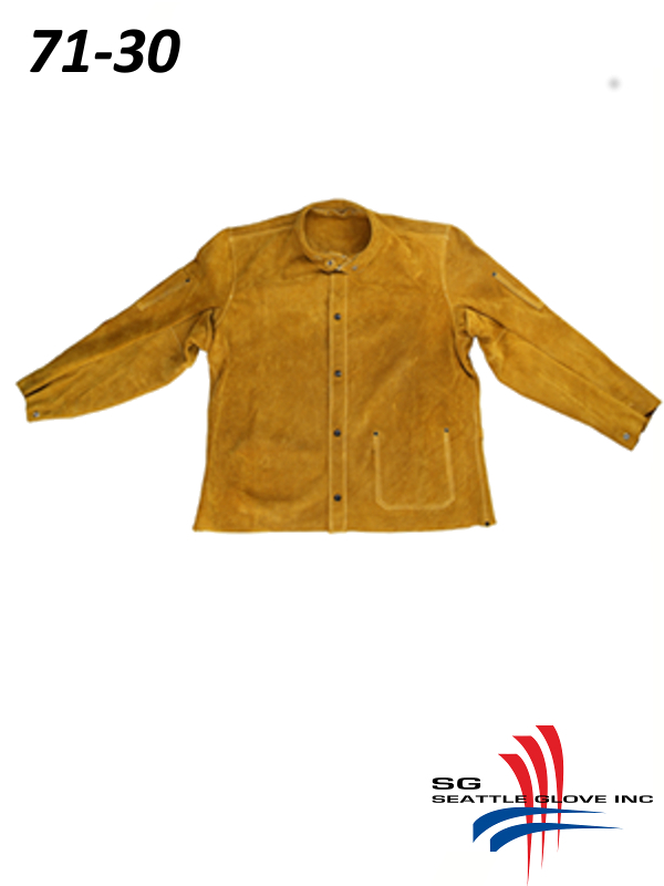 """Seattle Glove 71-30, 30"""" Welding Jacket with Kevlar Sewing/$ per Each"""