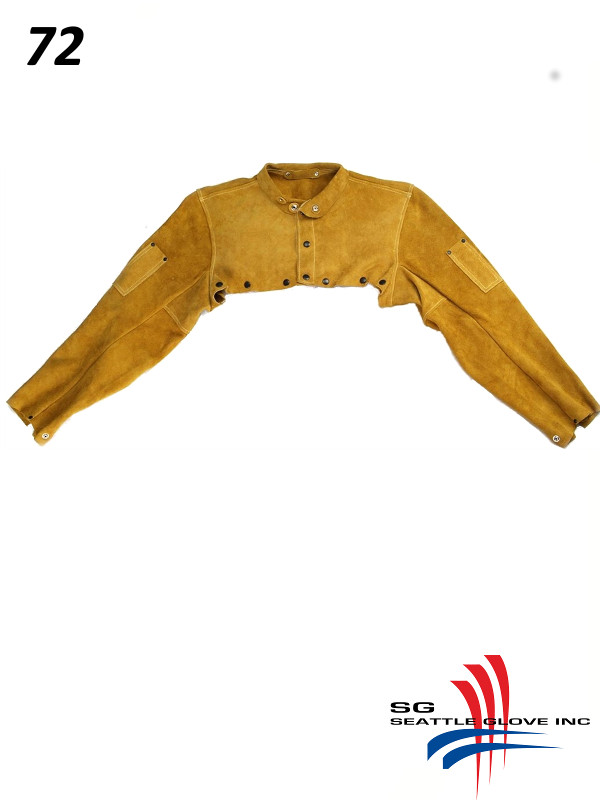 Seattle Glove 72, Leather Cape Sleeve, with Kevlar Sewing/$ per Each
