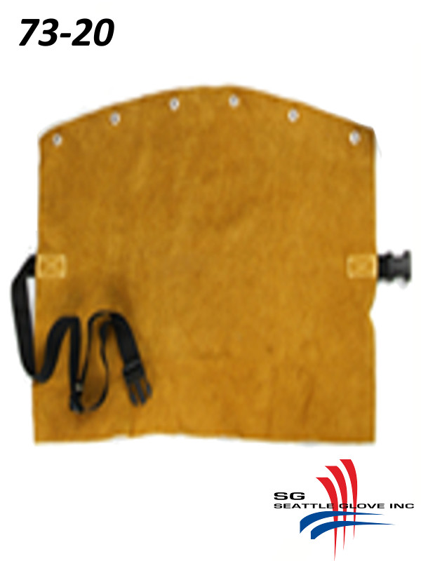 """Seattle Glove 73-20, 20"""" Leather Bib with Kevlar Sewing/$ per Each"""
