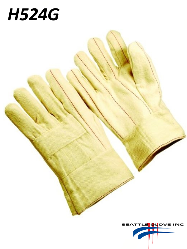 Seattle Glove H524G, Hot Mills Gloves with Special Double Layer and Gauntlet Cuff/$ per Dozen