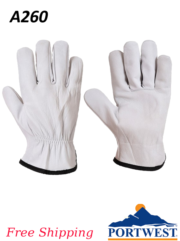 Portwest A260, Classic Sheepskin Driver Gloves/SHIPPING INCLUDED/$ per Pair
