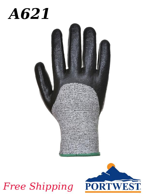Portwest A621, ANSI Cut Level A3, 3/4 Nitrile Foam Glove/SHIPPING INCLUDED/$ per Pair