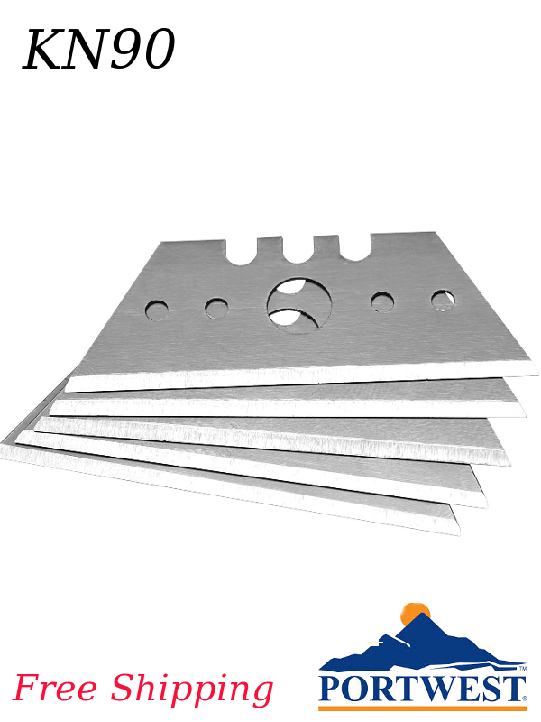 Portwest KN90, 10 Replacement Blades for KN10 & KN20/FREE SHIPPING/$ per Package of 10 Blades
