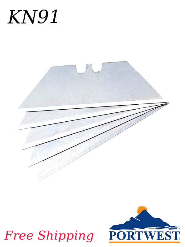 Portwest KN91, 10 Replacement Blades for KN30 & KN40/FREE SHIPPING/$ per Package